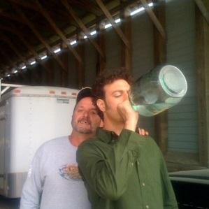 Drinkin Moonshine at Punkin Chunkin (Delaware)