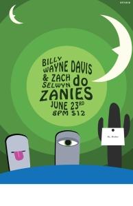 Zanie's Show in Nashville with Billy Wayne Davis