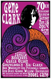 Gene Clark 70th Bday Tribute