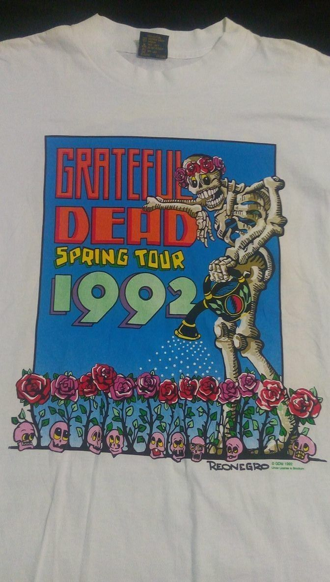 grateful-dead-spring-tour-1992-reonegro-vintage-concert-rare-t-shirt-xl-3c6197b4da3b7f90b81571a1af5625aa